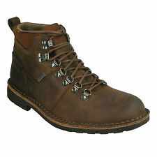 LAWES HIGH GTX MENS CLARKS LEATHER WATERPROOF CASUAL LACE UP HIKER ANKLE BOOTS