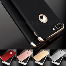 Ultra thin Hard Case Shockproof Full Protector Cover For iPhone 7 Plus Free Flim