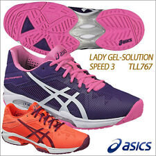 New Asics Japan Tennis Shoes LADY GEL-SOLUTION SPEED 3 TLL767 ALL COURT Women's