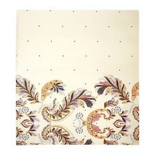 YVES DELORME PARURE DUVET COVER IN PRINTED EGYPTIAN COTTON SATEEN