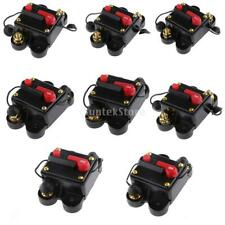 20A-300A Inline Auto Manual Reset Circuit Breaker 12/24v Car Audio Fuse Holder