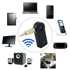 Wireless Bluetooth 3.5mm AUX Audio Music Home Car Receiver Adapter Mic Lot