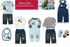 NWT Gymboree Walrus Fella Sets & Pieces  Sizes: 3-6, 12-18, 18-24 months