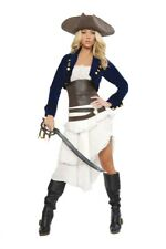 Sexy Colonial Pirate Women's Sexy Halloween Costume Outfit