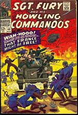 Sgt. Fury AND HIS HOWLING COMMANDOS #40 (Mar 1967, Marvel) 6.0 FN FREE SHIPPING