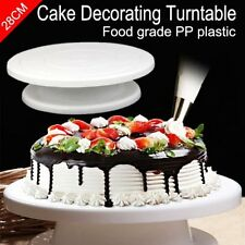 28cm 11'' Rotating Cake Decorating Turntable MODELLING tool Display Stand Mould@