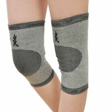 1x Bike Support Kneecap Gym Pad Charcoal Bamboo Knee Protector Brace Guard