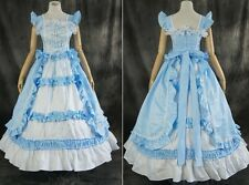 H-T100 S/m/L/XL/XXL Satin Victorian Lolita Cosplay costume dress costume