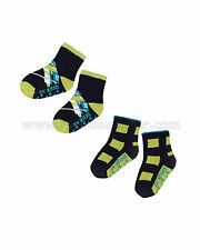 Deux par Deux Boys' Socks Set He Shoots, He Scores!, Sizes 18M-6