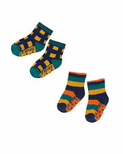 Deux par Deux Boys' Socks Set Off Road, Sizes 18M-6