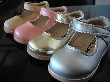 Girl's School Dress Classic Shoes Touch Close Mary Jane 4 Colors Toddler size