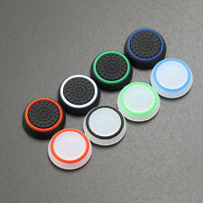 1 Pair Silicone Joystick Thumb Caps for Sony PS4 PS3 PS2 Controller WR