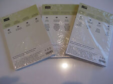 Stampin Up DESIGNER SERIES PAPER STACK (New & Sealed) - U CHOOSE