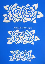 Assorted Beautiful Rose Stencils -**Free gift with every order**