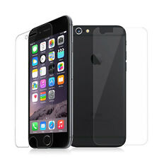 Front & Back Clear Matte Full Edge Soft TPU Screen Protector For iPhone 7 / Plus