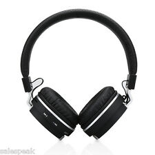Foldable Wireless Bluetooth Stereo Headphone On-Ear Headsets For iPhone Laptop