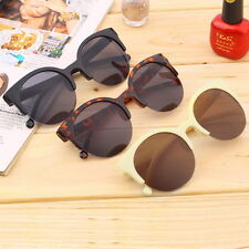Retro Lens Vintage Men & Women Round Frame Sunglasses Eyewear MC
