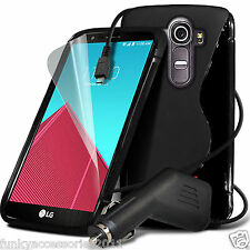 S-Line Slim TPU Sports Wave Gel Rubber Phone Case✔In Car Charger for Samsung
