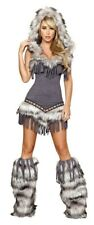 Native American Indian Tribal Chief Women's Adult Halloween Costume Outfit