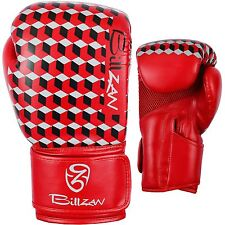 PRO Boxing Gloves Sparring Gel Punch Bag Kickboxing Training Muay Thai MMA PAIR