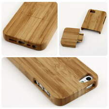 iPhone 5/5s Luxury OG Natural Carved Wood Wooden Hard Case Cover Protect Lot MC