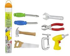 Safari Ltd Tools TOOB - Comes With 8 Different Hand Painted Carpentry Figurine M