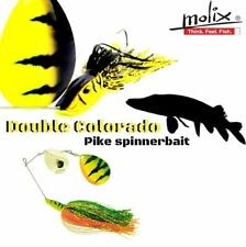 "MOLIX PIKE SPECIAL PIKE HUNTER RANGE  ""PIKE SPINNERBAIT"" DOUBLE COLORADO 28g/1oz"