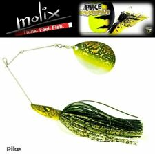 "MOLIX PIKE SPECIAL PIKE HUNTER RANGE  ""PIKE SPINNERBAIT"" SINGLE COLORADO 28g/1oz"