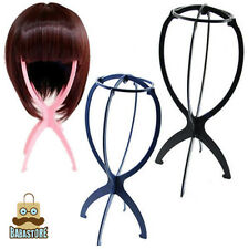 Folding Plastic Stable Durable Wig Hair Hat Cap Holder Stand Display Tool GOODMC