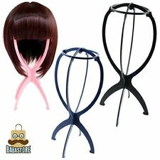 New Folding Plastic Stable Durable Wig Hair Hat Cap Holder Stand Display Tool CC