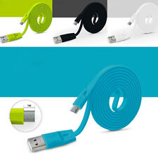 3FT 2.1A Fast Charging Micro USB Protable Date Sync Charge Cable 4 Colors Lot