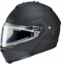 HJC IS MAX II Modular Snow Helmet Matte Black Electric Shield Free Size Exchange
