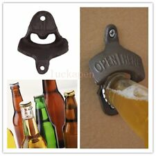 Vintage Antique Style Bar Pub Beer Soda Top Bottle Opener Wall Mount ~US