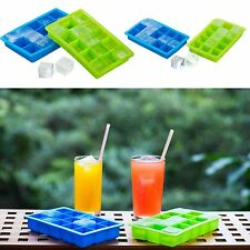Silicone Ice Ball Cube Tray Freeze Mould Bar Jelly Chocolate Mold Maker DIY