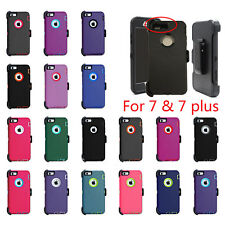 Defender Case Cover with Belt-Clip Holster Fit for Otterbox iPhone 7/7 Plus