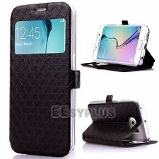 Shockproof Flip Wallet PU Leather Case Cover Stand For Samsung Galaxy J3 J5 S7