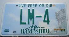 NH Live Free or Die License Plate, LM-4  Old Man Mountain, Man Cave, Garage