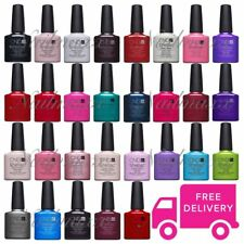 CND Shellac UV Gel Nail Power Polish ALL 120 Colours, Top Coat or Base Coat