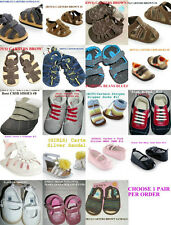 * NWT NEW BOYS GIRLS CARTERS SANDALS MARY JANES SHOES NEWBORN 3M 6M 9M 12M 18M