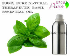 Aromatherapy Basil Essential Oil 100% Pure Natural Therapeutic 5 ml-500 Ml