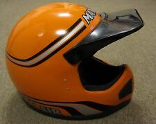 Vintage NOS Maxon Ram Air Full Face BMX ATV Motocross Helmet Youth M Medium