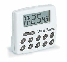 West Bend Digital Timer White 2 ounce New