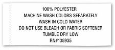 """DII 100% Polyester Machine Washable Holiday Dinner Solid Napkins 20x20"""" -... New"""
