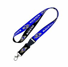 NFL Baltimore Ravens Lanyard with Detachable Buckle New