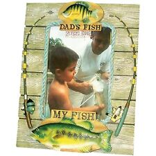 Rivers Edge Products My Fish My Dads Fish Picture Frame New