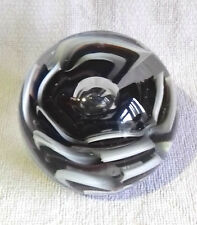 Beautiful Vintage Large Art Glass Paperweight