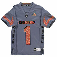ARIZONA STATE SUN DEVILS JERSEY -ADIDAS YOUTH-ALL SIZES-BRAND NEW-NWT RETAIL $45