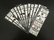 2010 Full Tickets Chicago White Sox YOU PICK ONE GAME Paul Konerko Andruw Jones