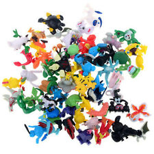 Hot Set lot Pokemon Action Figures Cute Monster Mini Pearl Toys Anime Collection