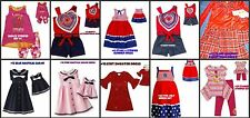 * NEW GIRLS DOLLIE DOLL ME SUMMER WINTER DRESS OUTFIT SET 2T 3T 4 5 6 7